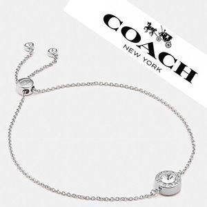 NEW Coach Open Circle Slider Bracelet